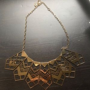 Tory Burch statement necklace